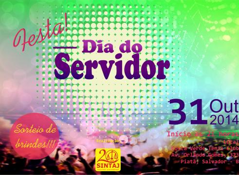 festa servidor