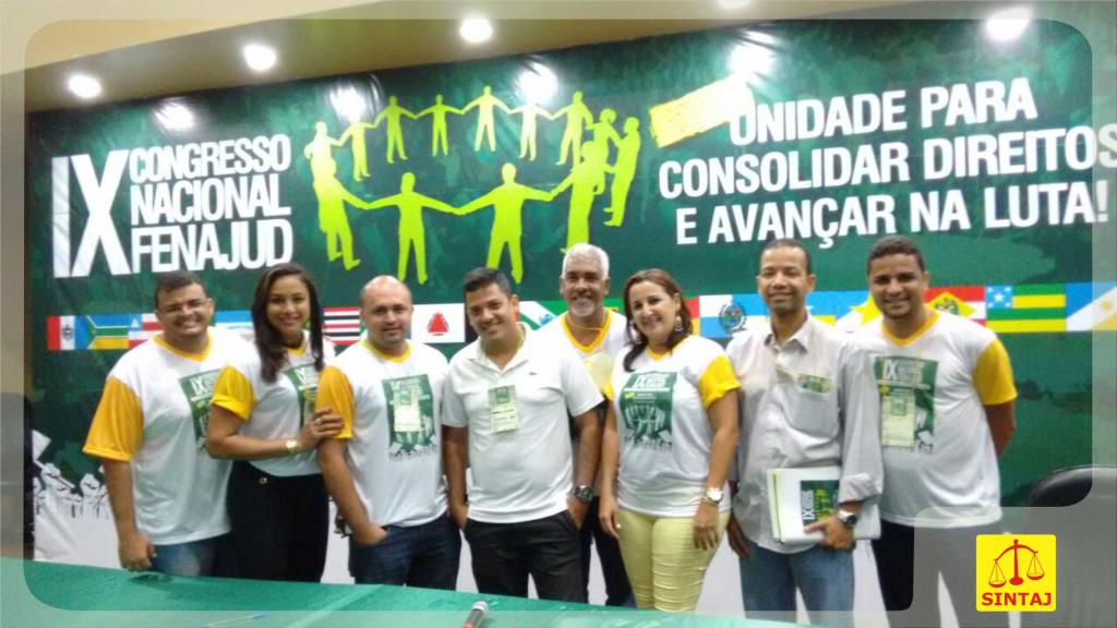 participação dos coordenadores no Congresso da Fenajud Macapá