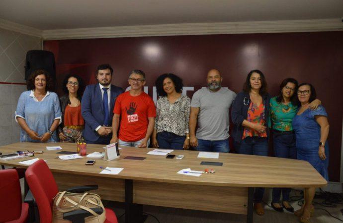 Coordenadores do SINTAJ se reúnem com administradores das unidades gestoras
