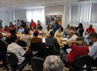 SINTAJ e outras entidades se reúnem com deputados na Assembleia Legislativa