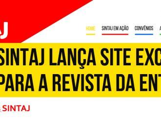 SINTAJ lança site exclusivo para a revista da entidade