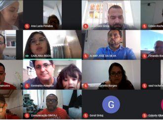 Em primeira assembleia virtual do SINTAJ, trabalhadores do Judiciário baiano aprovam contas de 2019 do sindicato