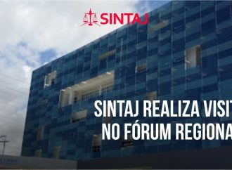 SINTAJ realiza visita virtual no Fórum Regional do Imbuí