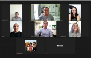 Visita Virtual: SINTAJ se reúne com servidores de Barreiras, Brumado e mais oito comarcas