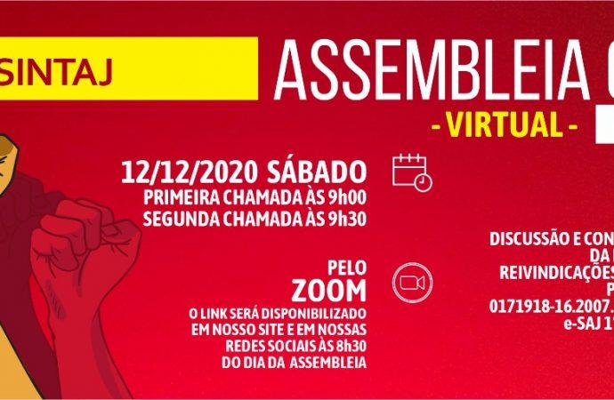 Link para assembleia virtual 12/12