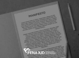 Fenajud e entidades parceiras assinam manifesto contra fim do serviço público