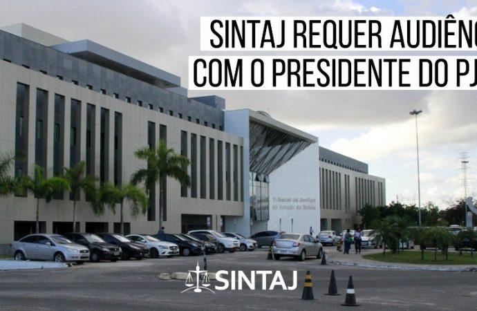 SINTAJ requer audiência com o presidente do PJBA.