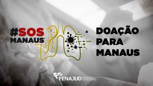 Fenajud concretiza doação para Manaus