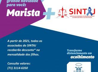 Novo convênio do SINTAJ: Colégio Marista – Patamares