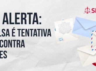 SINTAJ alerta: Carta falsa é tentativa de golpe contra servidores