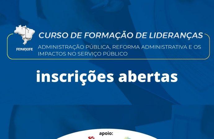 Curso de Formação de Lideranças com foco na Administração Pública está com inscrições abertas. Participe!