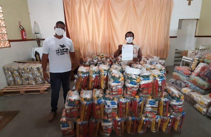 Para marcar 1º de maio, SINTAJ doa cem cestas básicas