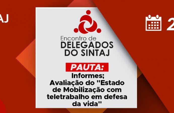 Link para encontro de delegados virtual 22/06