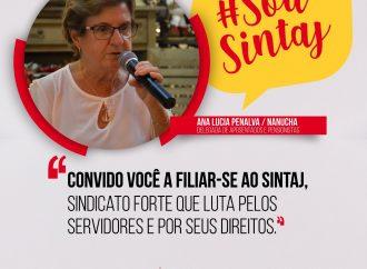 Nanucha convida você a filiar-se ao sintaj
