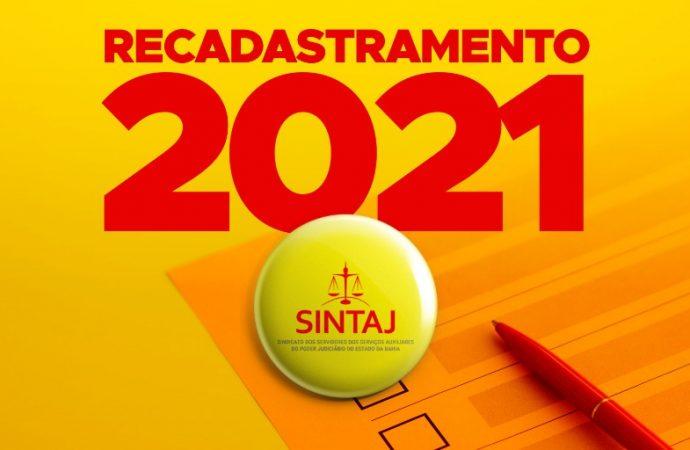 SINTAJ inicia campanha de recadastramento para filiados
