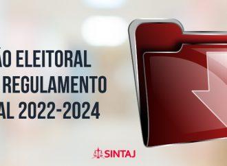 Comissão eleitoral publica regulamento eleitoral 2022-2024
