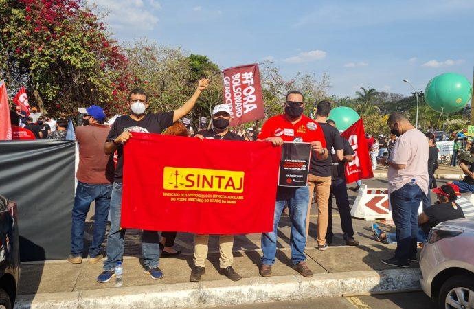 SINTAJ participa de Ocupa Brasília; manifestação contra Reforma Administrativa continuará